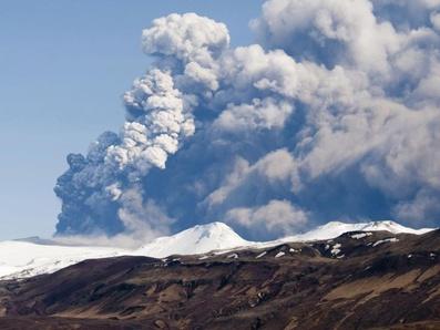 Извержение вулкана в Исландии не грозит авиации СЗФО