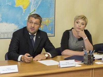 Марина Ковтун встретилась с руководством и работниками Оленегорского ГОКа
