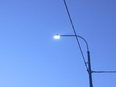 В Коле установлено новое уличное освещение