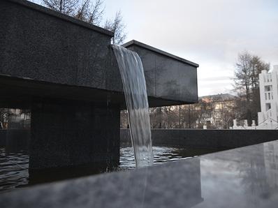 В Мурманске запустили два новых фонтана