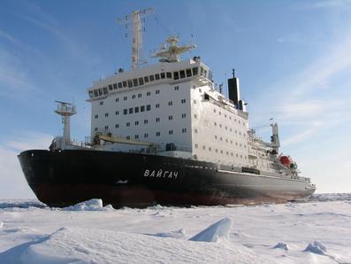 Атомный ледокол «Вайгач» Росатомфлота вернулся в Мурманск