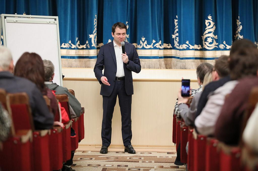 Андрей Чибис встретился с жителями Кировска